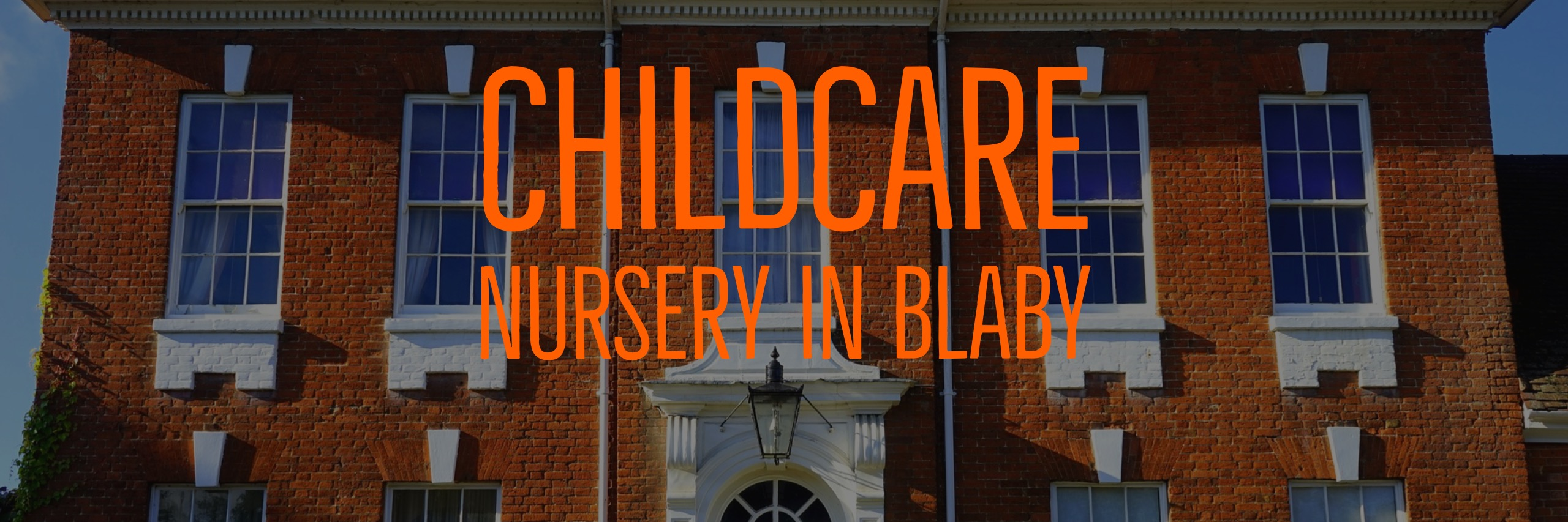 child care day nursery Blaby Leicester
