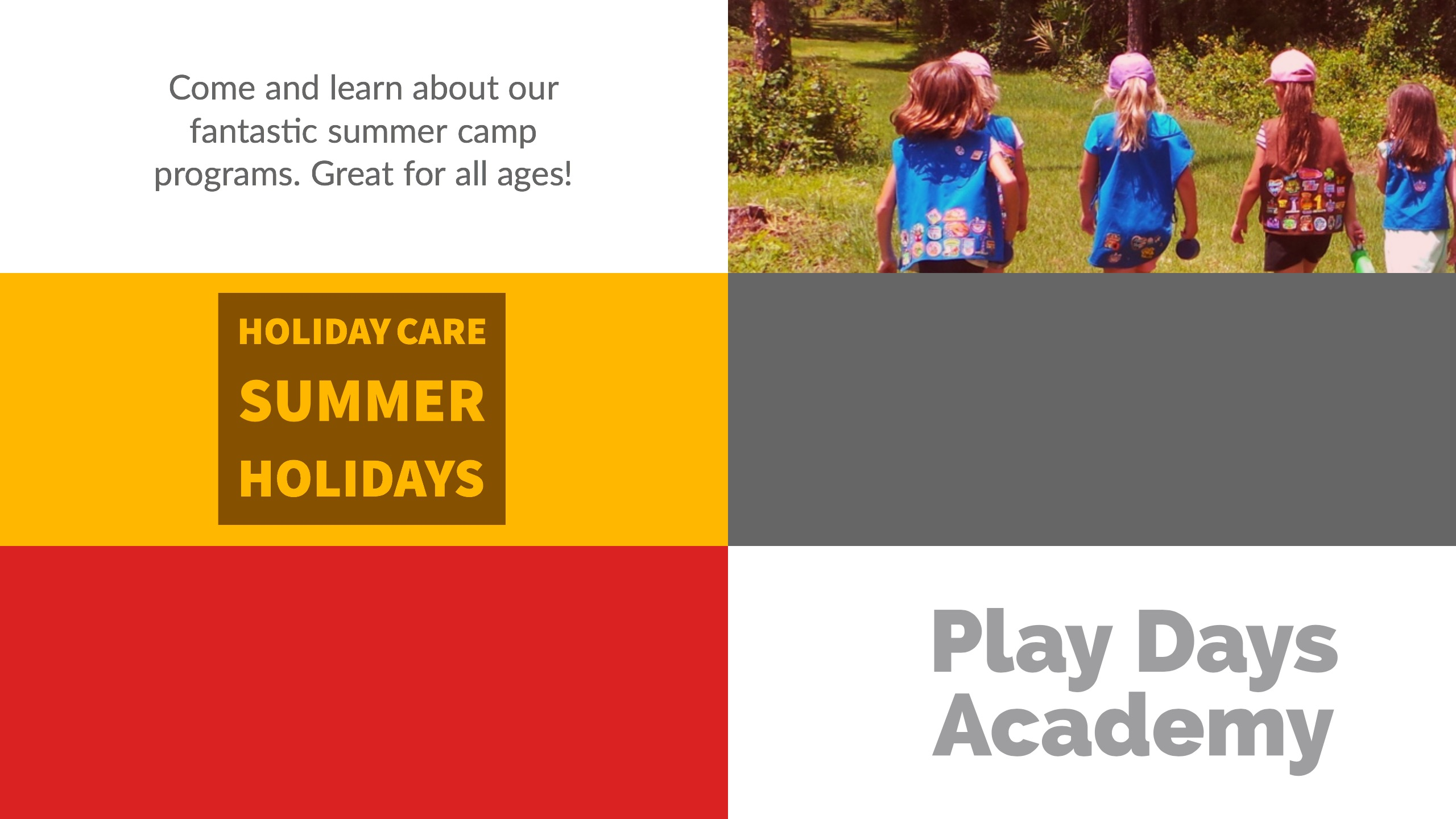 Summer holiday care in Glen Parva Leicester